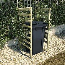 OUSEE Mülltonnenbox 1 Tonne 70x80x150 cm