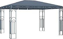 OUSEE Pavillon 400 x 300 cm Anthrazi