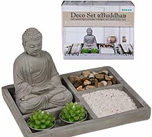 Out Of The Blue Mini Zen Garten mit Stein BUDDHA,