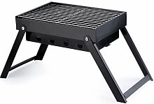 OUTAD tragbarer Faltgrill Holzkohlegrill BBQ Grill