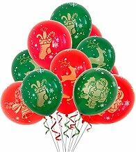 OUTANG Luftballons Bunt Christmas Luftballon