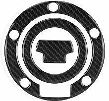 Outbit Tankpad - 1 PC aus Kohlefaser Motorrad Gas
