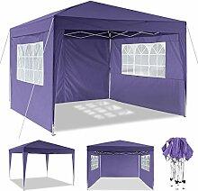 OUTCAMER Pavillon 3x3m/3x6m Pavillon Faltbar