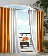 Outdoor Decor Pavillon Indoor Outdoor Fenster Panels, 50von 96, Orange