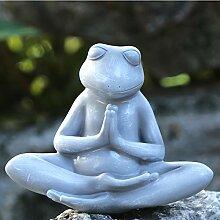 Outdoor Garten Dekoration Künstliche Yoga Frosch