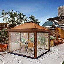 Outdoor Gartengrill Pavillon mit Moskitonetz- und