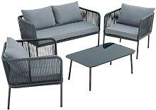 outdoor Gartenmöbel Set TALEA 4 teilig
