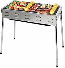 Outdoor Grill Grill Tragbare Holzkohle Grill Rack