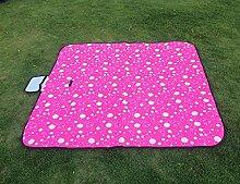 Outdoor Grill Reisen Wasserdicht Tragbar Strandtuch Feuchtigkeitsfest Picknickmatte 150 * 200cm,A-150*150cm