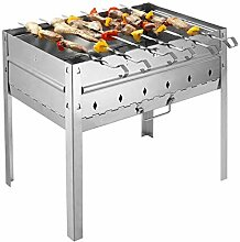 Outdoor Holzkohlegrill Tragbare Grill 5-8 Personen