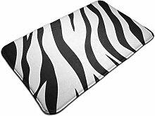 Outdoor Indoor Fußmatten Haut Zebra Rutschfeste