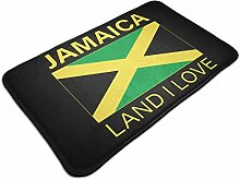 Outdoor Indoor Fußmatten Jamaika Land I Love