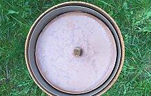 Outdoor-Kerze 16cm Durchmesser Leuchtfeuer Kerze Schwimmkerze Gartendeko