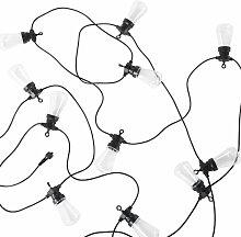 Outdoor-LED-Girlande mit 20 Glühbirnen L101