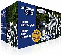 Outdoor Lights 98950Lichterkette Solar Kunststoff bun