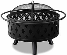 Outdoor Metall Firepit Square/Runder Tisch