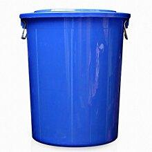 Outdoor Mülleimer Haushalt Mülleimer Material Kunststoff Spezifikationen 50 * 39 * 61 5cm Große Kunststoff-Mülleimer