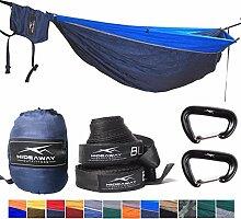 Outdoor Reise Camping Doppel Hängematte f. 2