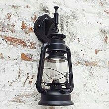 Outdoor - Retro - Der Wind Outdoor Wall Lamp Wasserdicht Europäischen Speisesaal Kreative Dekoration Laterne Lampe,Ein