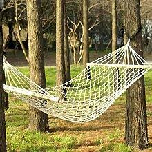 Outdoor-Schaukel hängen Camping Baumwolle Bett