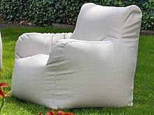 "Outdoor-Sessel Ruhesessel Sitzsack Relaxsessel Gartenmöbel Sessel ""Checker XL I"" Beige"