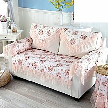 Outdoor-sofa-kissen/Spitze Stoff Zurück Schals/Arm-handtuch/Volle Deckung Sofa Handtuch-A 100x100cm(39x39inch)
