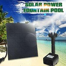 Outdoor-Sonnenenergie-Wasserpumpe Panel Kit, Pool
