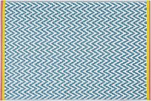 Outdoor-Teppich aus Polypropylen, ecrufarben mit
