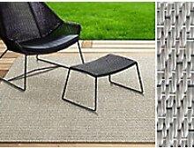 Outdoor-Teppich Casa Pura Turin Beige Vinyl,