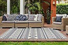 Outdoor Teppich Ethno Design Balkon Terrasse