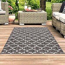 Outdoor-Teppich Flachgewebe Teppich Terrasse