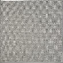 Outdoor-Teppich, grau, geflochten 200x200