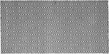 Outdoor Teppich Schwarz Weiß Kunststoff 80 x 150