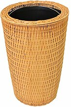 Outdoor trash can CSQ Bambus Und Rattan