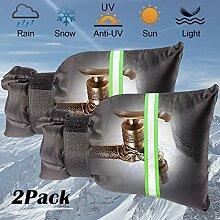 Outdoor-Wasserhahn-Abdeckungen für den Winter,