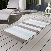 Outdoorteppich in Multicolor ca.70x140cm