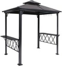 OUTFLEXX Grillpavillon, bronze,