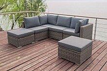 OUTFLEXX Loungemöbel-Set, grau aus
