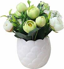 outflower 1pc Keramik-Vase mit Simulation