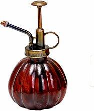 outflower 1pc Spray-Flasche Glas Retro Kürbis Kürbis Bewässerung der Farbe Blumen Garten Bewässerung Gießkanne, transparent, 9* 16cm 9*16cm ro