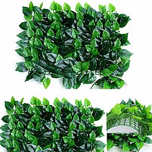 Outgeek Künstliche Heckenpflanze Dekorative