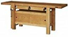 Outifrance 0017220Werkbank Profi aus Holz mit 2Schubladen/Subwoofer mit 2Schiebetüren 2,00m