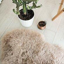 Outlavish Schaffell-Teppich, weich, echtes