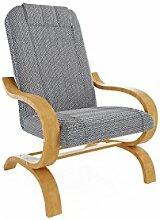 OUTLET !! Sessel Pella Schwingsessel Relaxsessel Entspannungssessel (Erle + Florida 01)