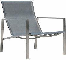 OUTLIV. Antigua Deckchair Edelstahl/Textilene