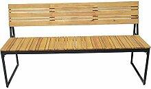 OUTLIV. Gartenbank Holz 2-Sitzerbank 150cm