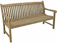 OUTLIV. Gartenbank Holz Teak Boma 3-Sitzer 158 cm