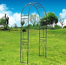 outour® Stereoscopic Metall Garden Arch Arbor