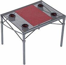 Outsunny® Campingtisch Klapptisch Gartentisch Falttisch Picknicktisch Tisch Metall