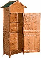 Outsunny Gartenhaus, natur, 190 x 66 x 45 cm, 01-0053